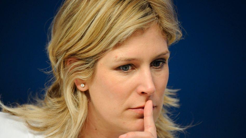 Spitzenkandidatin für die Europa-Wahl: Silvana Koch-Mehrin (FDP) wird vorgeworfen, bei ihrer Doktorarbeit abgeschrieben zu haben