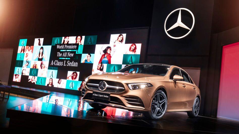 Daimlers neue A-Klasse-L-Limousine