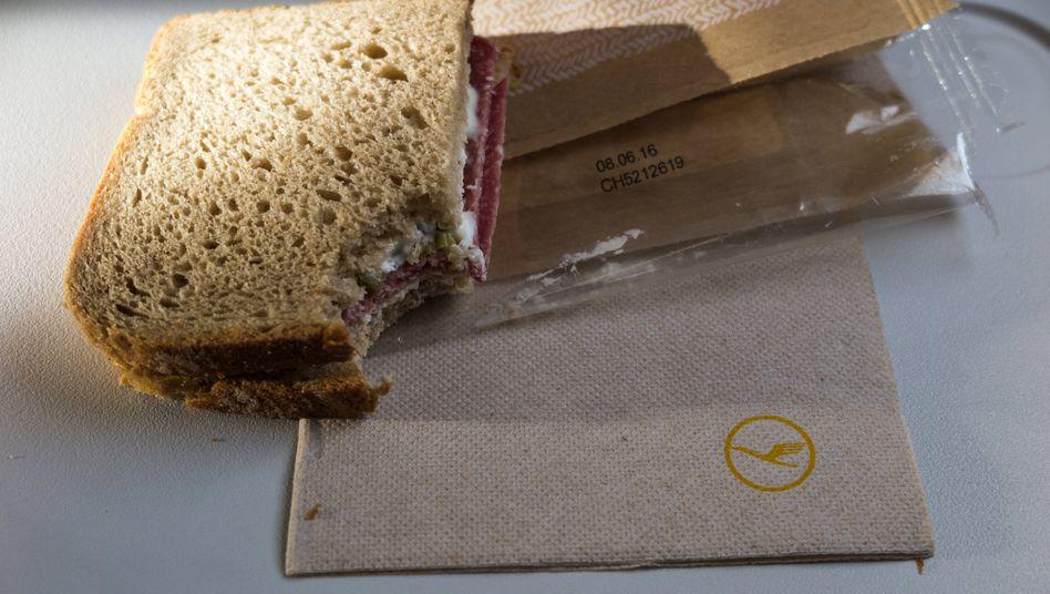 Sky-Snack: Die Bordverpflegung der Lufthansa wird abgespeckt - aber soll besser werden