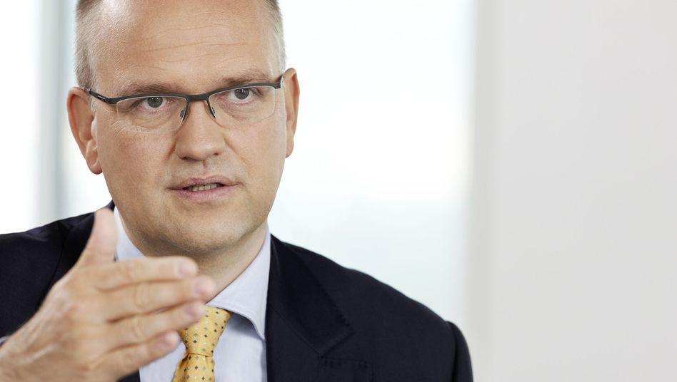 Macht einen klaren Schnitt: Rainer Neske, Chef der Privatkundensparte der Deutschen Bank, verlässt Deutschlands wichtigstes und größtes Geldhaus.