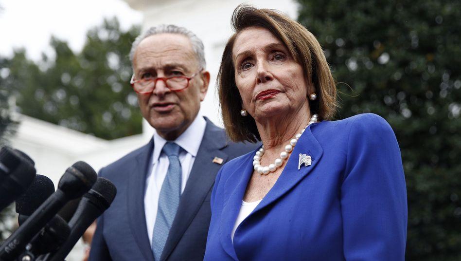 Demokraten Chuck Schumer, Nancy Pelosi: Einigung auf das dritte US-Hilfspaket steht kurz bevor
