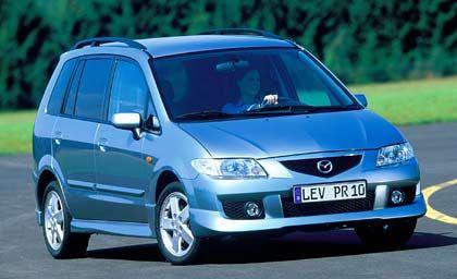 Van: Mit dem Mazda Premacy trägt auch in dieser Kategorie ein japanisches Modell die Krone