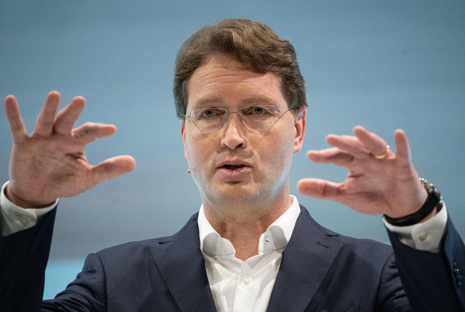Daimler Bilanz-Pressekonferenz