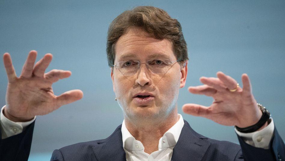 Daimler-CEO Ola Källenius auf der Bilanz-Pressekonferenz der Daimler AG im Februar 2020