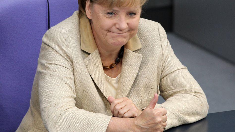 Will die Gemeinschaftswährung verteidigen: Bundeskanzlerin Angela Merkel