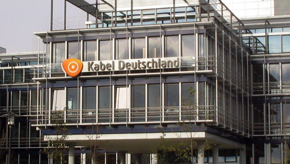 Zentrale des Fernsehkabelkonzerns Kabel Deutschland in Unterföhring bei München: Zukauf des Konkurrenten Tele Columbus offenbar vom Tisch
