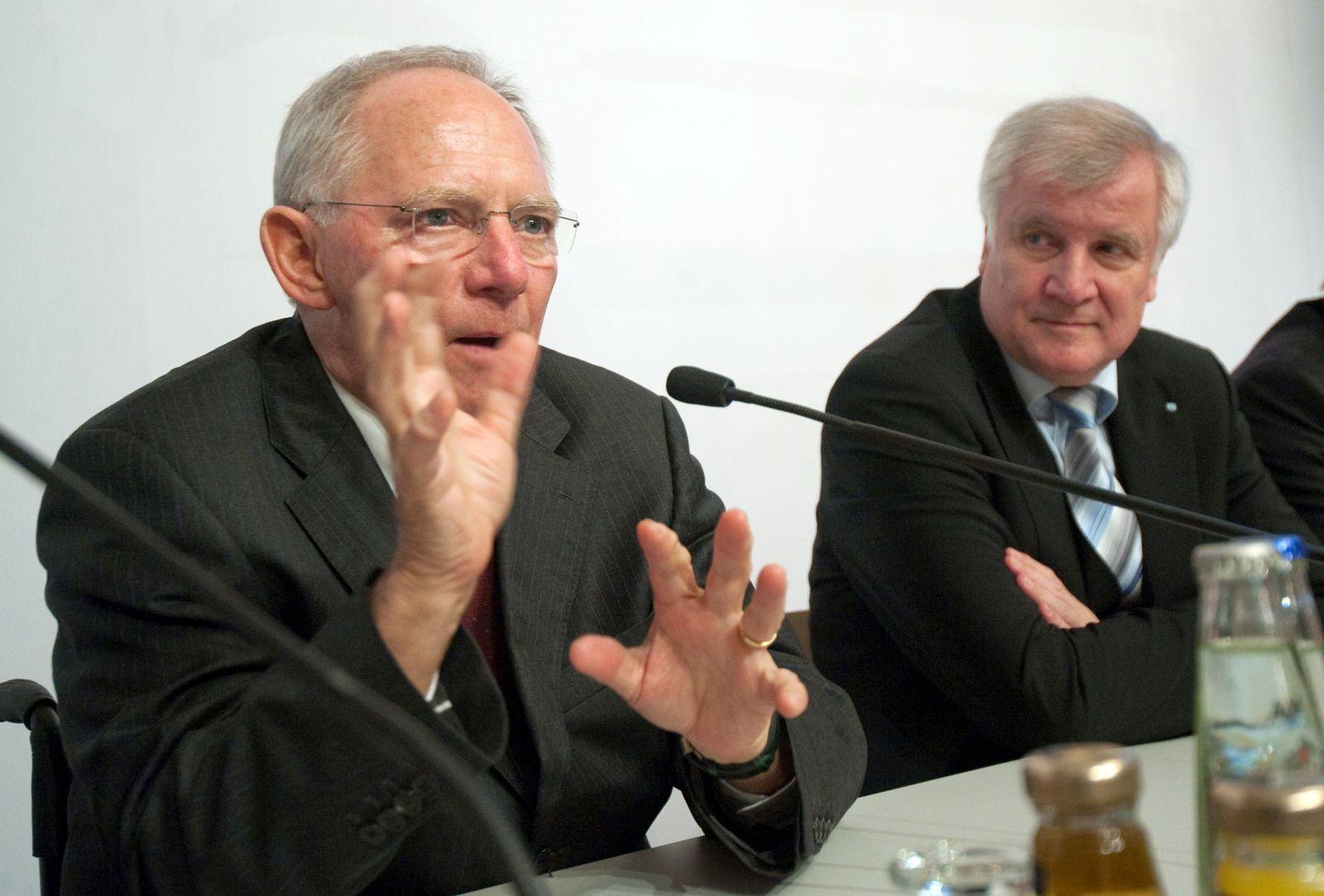Seehofer/ Schäuble