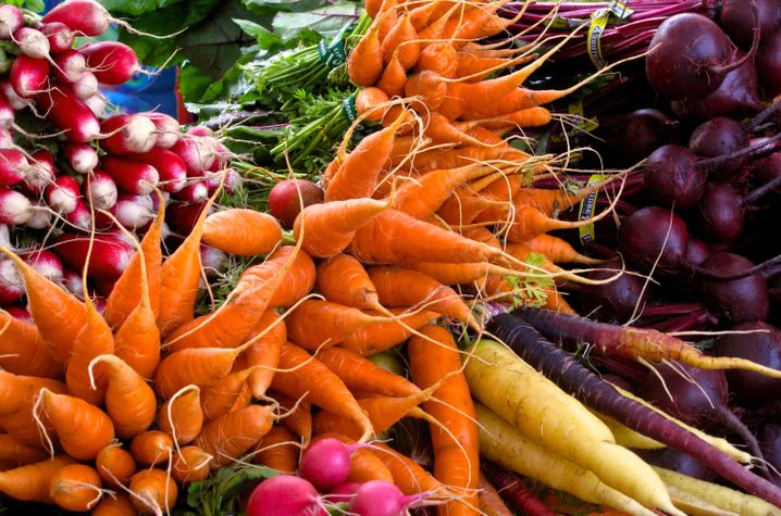 Lecker Gemüse: Wer braucht da noch Goji-Beeren?