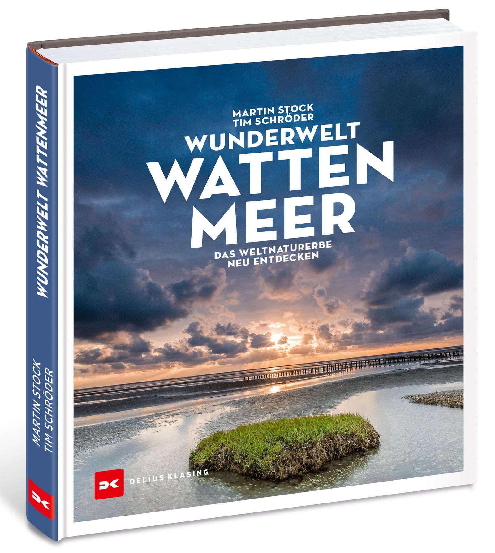 BUCHCOVER / Wunderwelt Wattenmeer / Delius Klasing Verlag