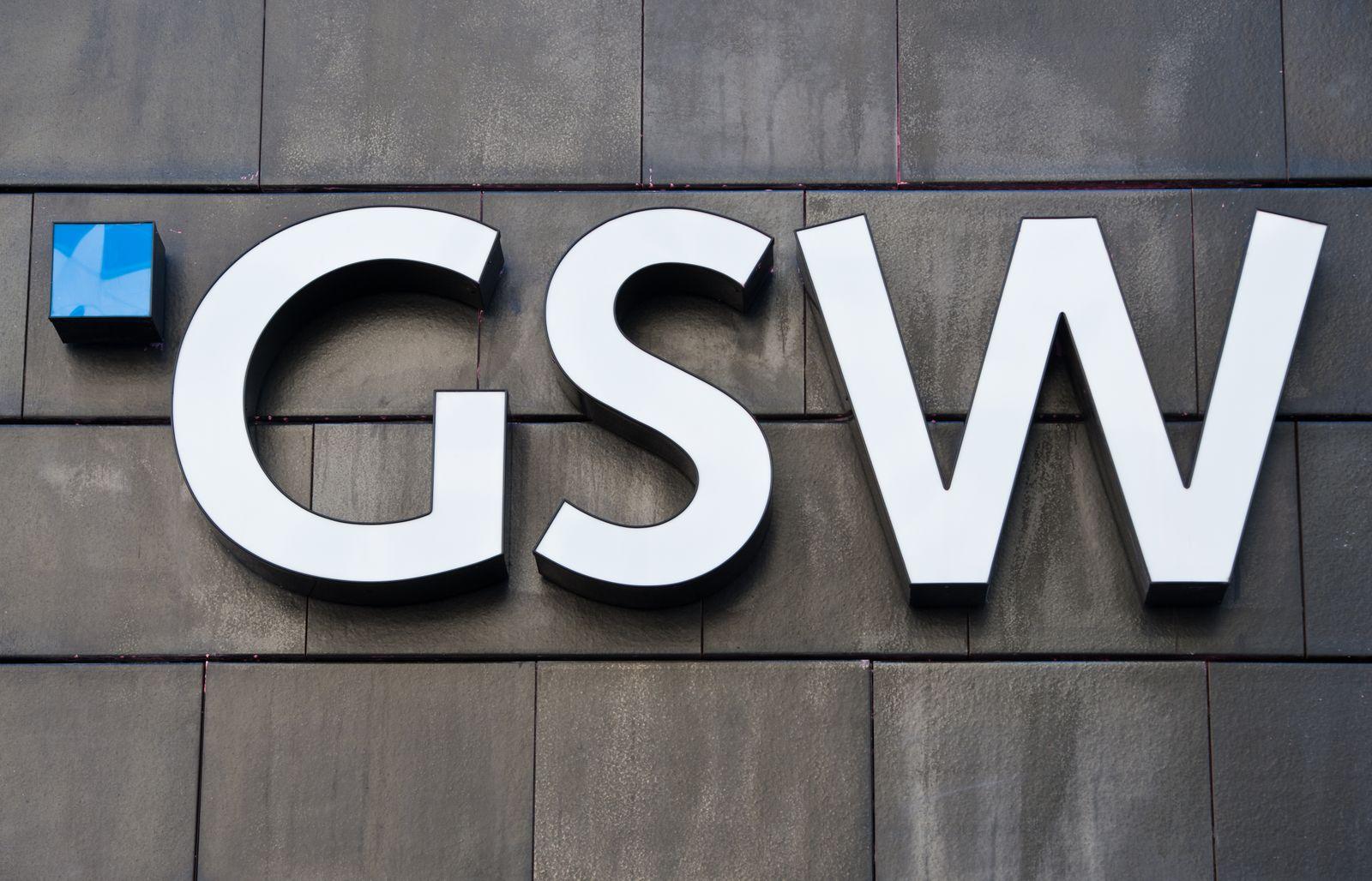 GSW / Immobilienkonzern; Logo