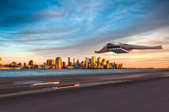 Luftfahrt-Studie Horizon: Das Leitwerk könnte bei Flugzeugen tatsächlich bald überflüssig werden