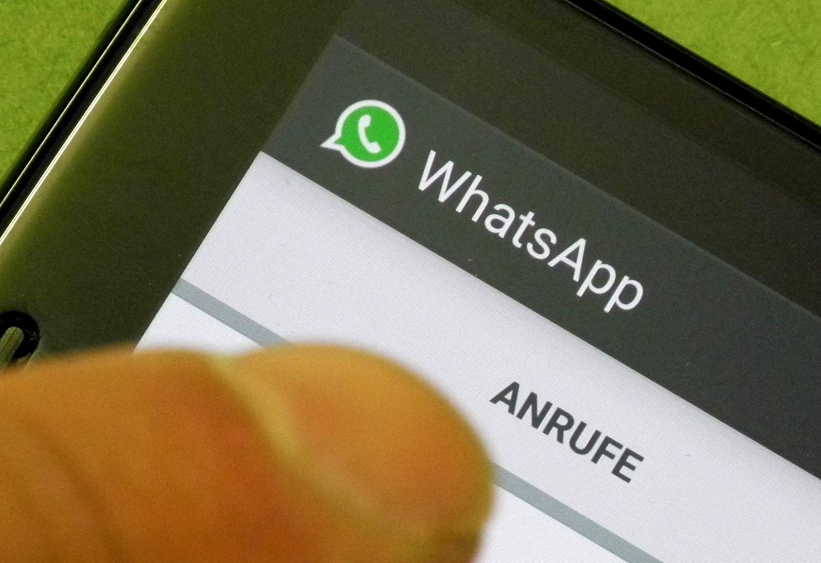 WhatsApp / Telefonieren