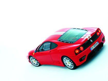 Ferrari Challenge Stradale Zylinder: 8 Hubraum: 3586 ccm Leergewicht: 1290 kg Verbrauch (ECE-Norm): 19,1 l/100 km (12,7 bis 30,1 l/100 km)