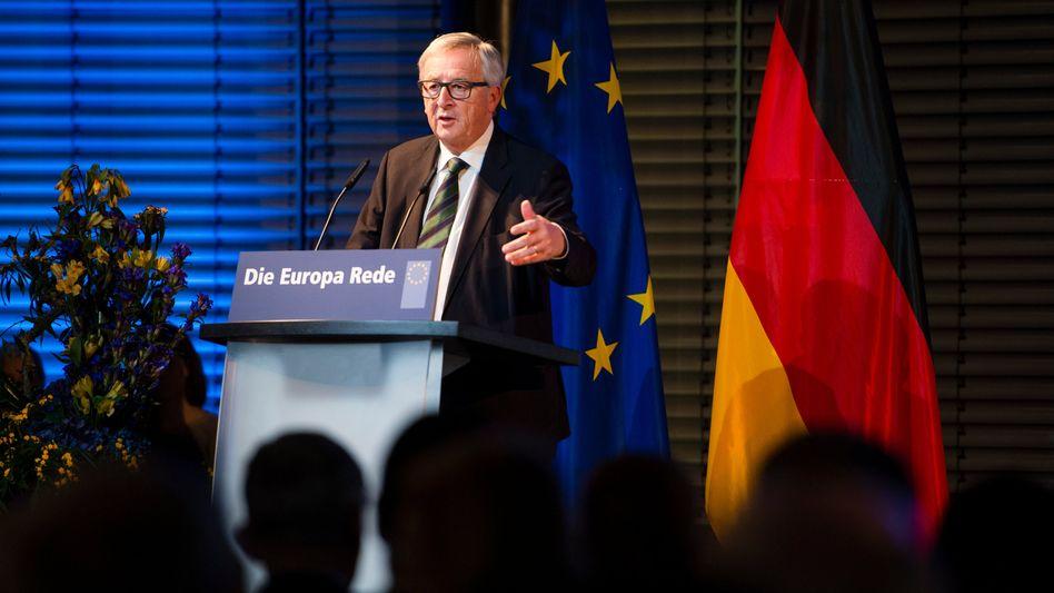 """Präsident der Europäischen Kommission, Jean-Claude Juncker: Setzt auf einen Verteidigungs-Fonds - für """"die gemeinsame Entwicklung von Technologien und Ausrüstung mit strategischer Bedeutung"""""""