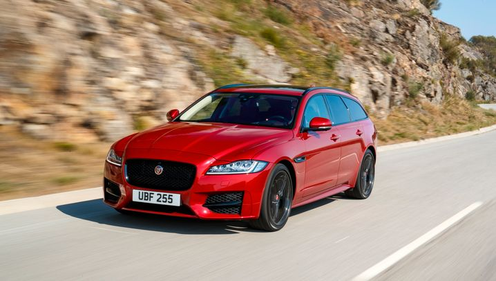 Jaguar XF Sportbrake: Praktisch, sportlich, spurtstark