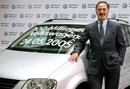 VW-Chef Pischetsrieder: Hoher Umsatz, doch Problem ist die Profitabilität