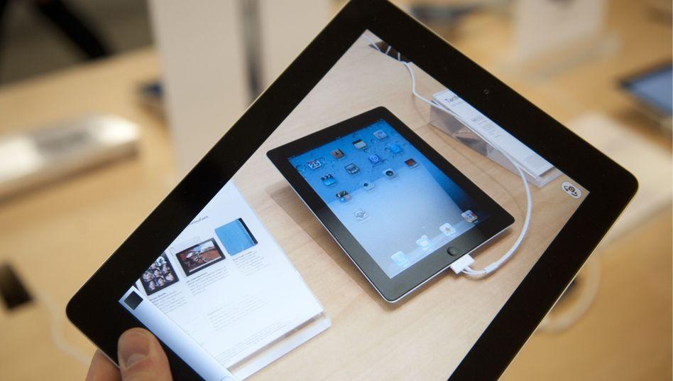 iPad: Der Tablet-Computer gehört künftig zur Ausrüstung von Singapurs Soldaten