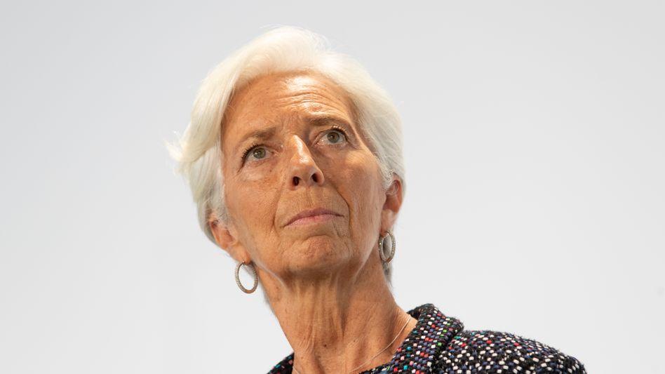Hüterin der lockeren Geldpolitik: EZB-Präsidentin Christine Lagarde