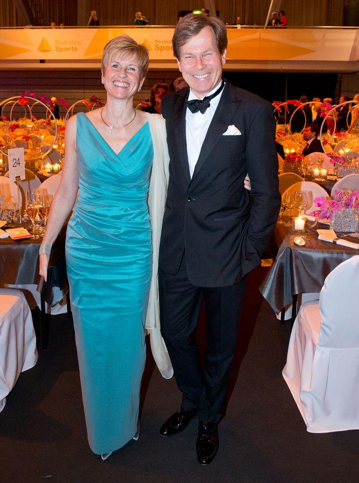 Eroberte sich die Deutungshoheit über ihr Leben zurück: Susanne Klatten, hier mit Ehemann Jan