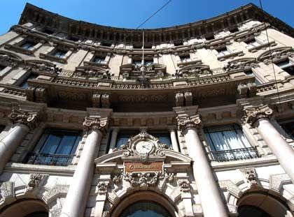 Sammelt Geld ein: Die italienische Großbank Unicredit