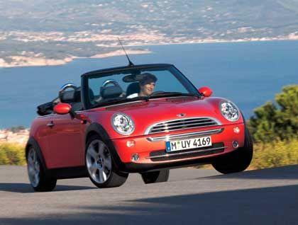 Der Sommer kann kommen: Das Mini Cabrio rollt in Kürze in die Verkaufsräume