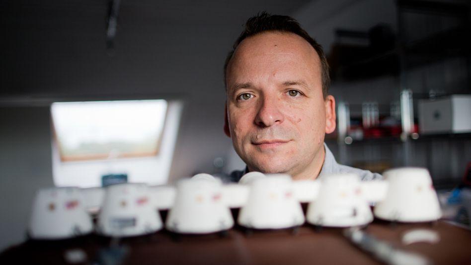 Wohnt in Leichlingen, will zum Mars: Stephan Günther