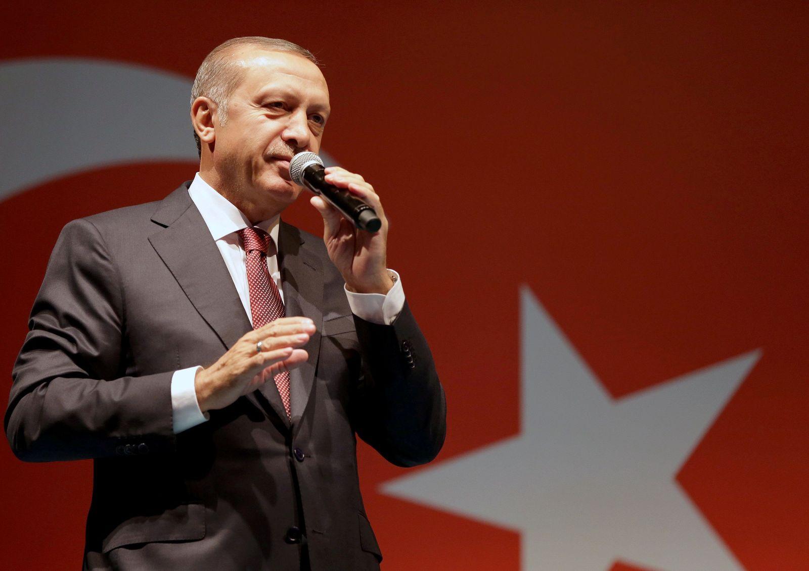 EINMALIGE VERWENDUNG Erdogan