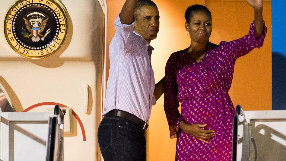 Barack und Michelle Obama: Auch ein scheidender US-Präsident hat sein Auskommen