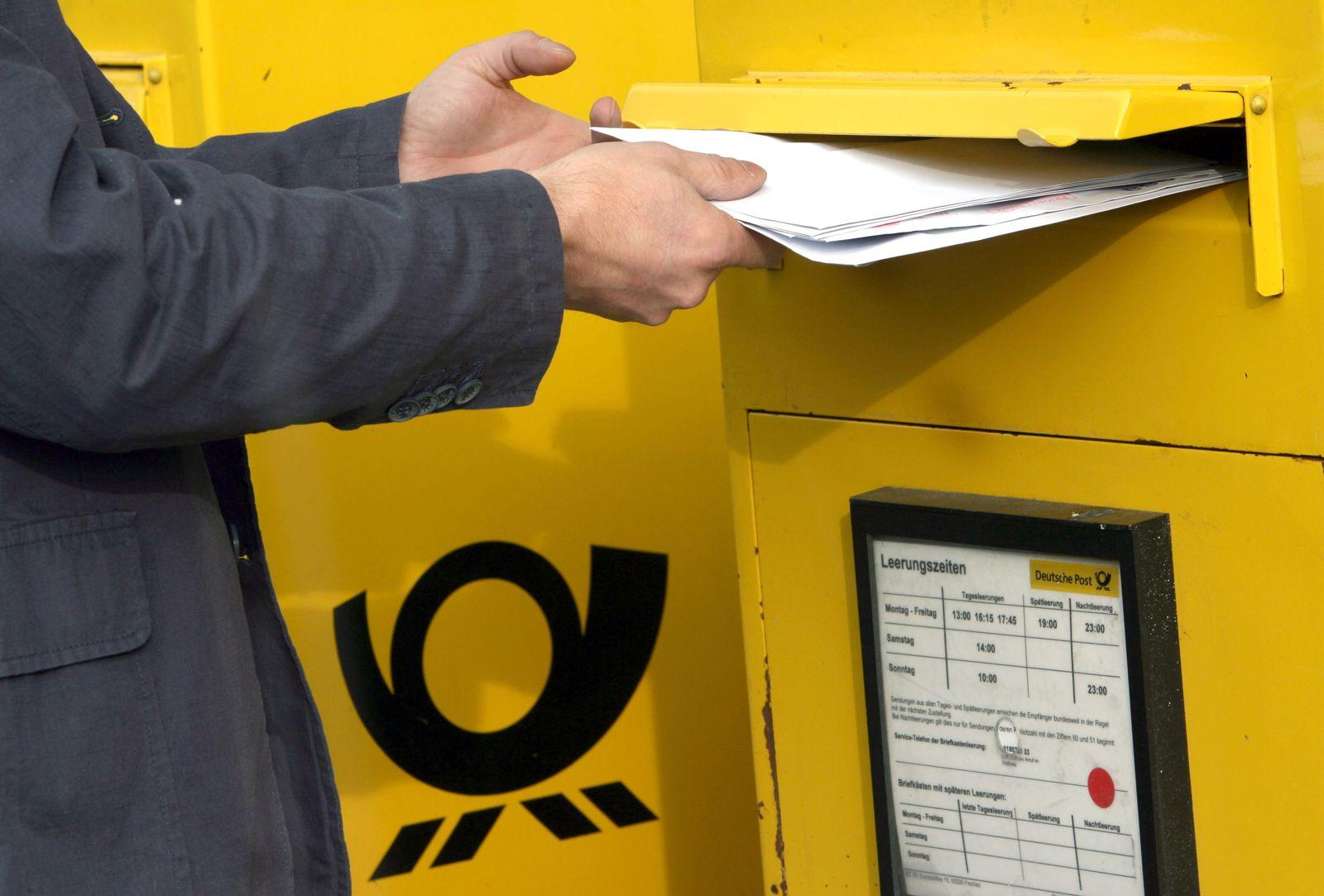 Deutsche Post / Briefkasten