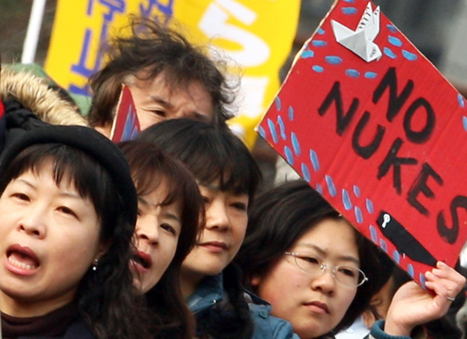 Japan / Atomkraft / Protest
