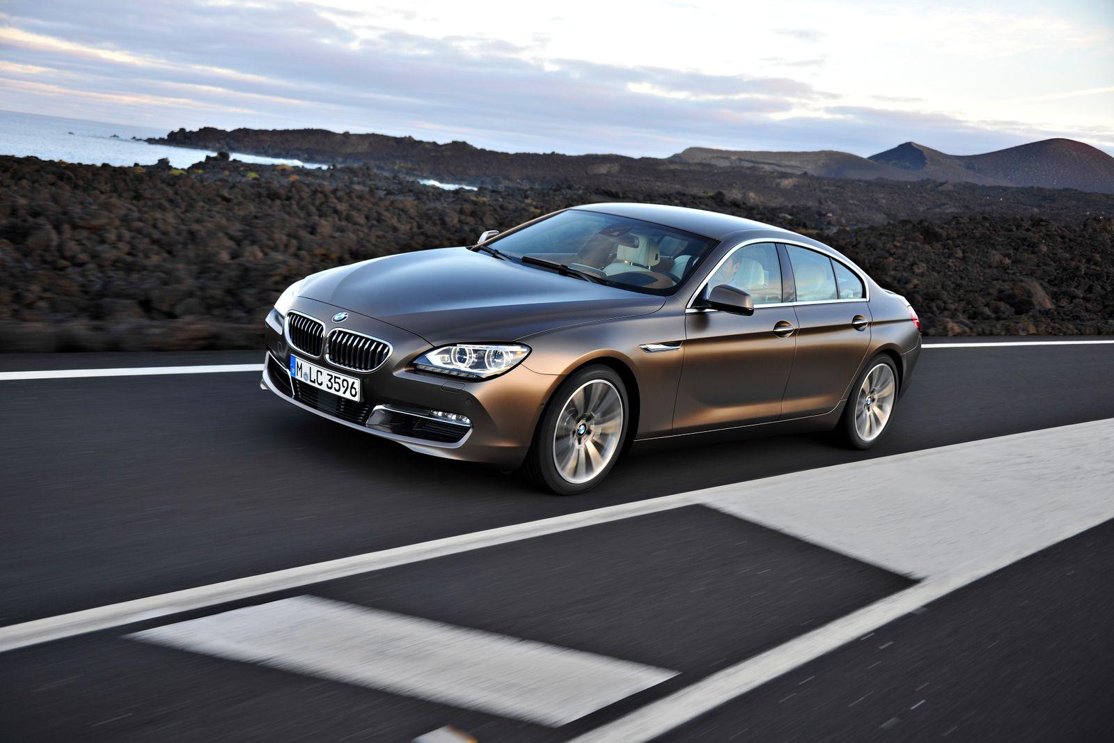 BMW 6er Grand Coupé SPERRFRIST So. 11.12.