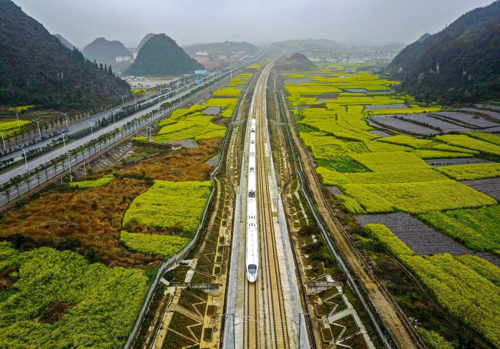 China/ Eisenbahn/ Bahn