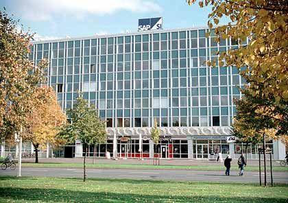 SAP SI: Das Unternehmen (hier die Zentrale in Dresden) wird Anfang nächsten Jahres vollständig in den Mutterkonzern SAP integriert