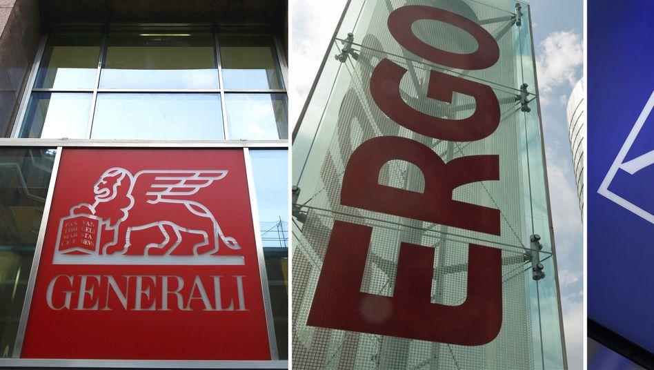 Generali, Ergo und Axa suchen Käufer für ihr Geschäft mit Lebensversicherungen in Deutschland