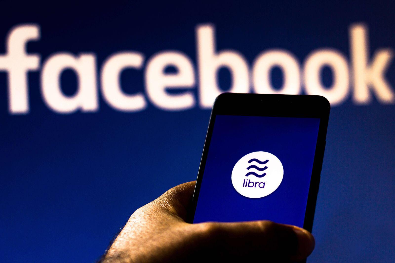 EINMALIGE VERWENDUNG Facebook / Libra
