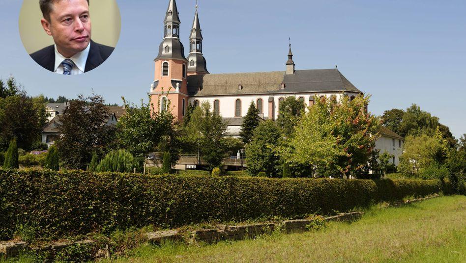 Elon Musk, ehemaliges Kloster in Prüm