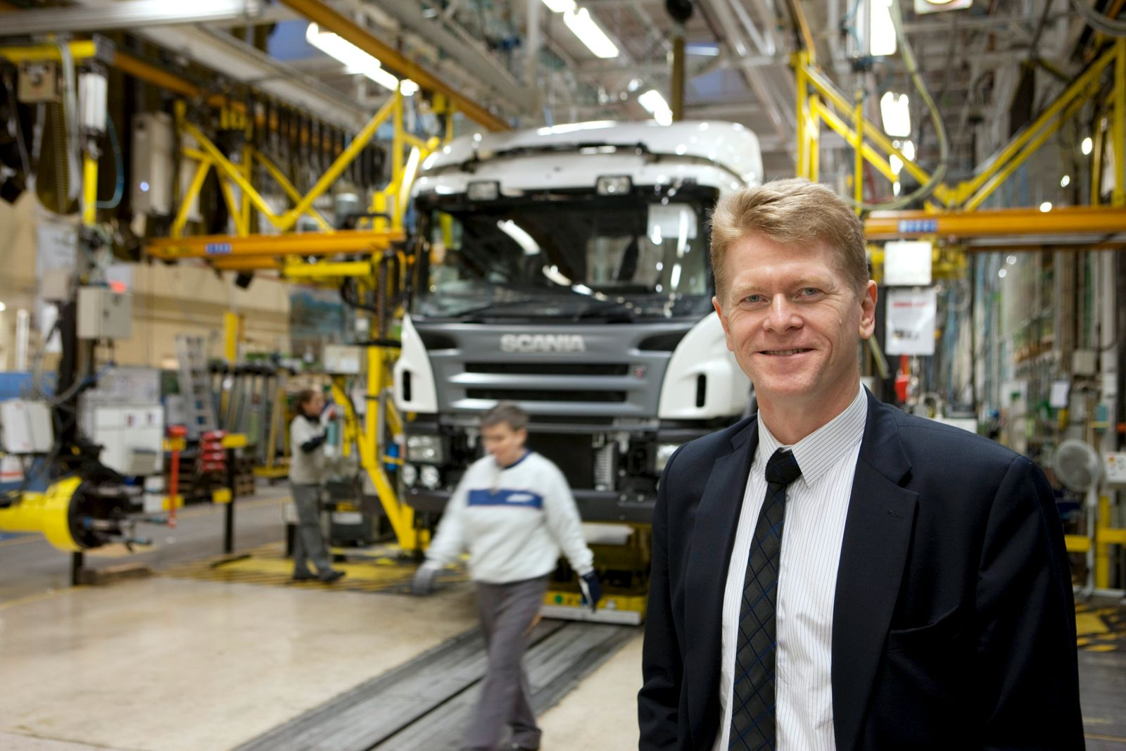 Anders Nielsen Scania Senior Vice President Chassis and Cab Prod