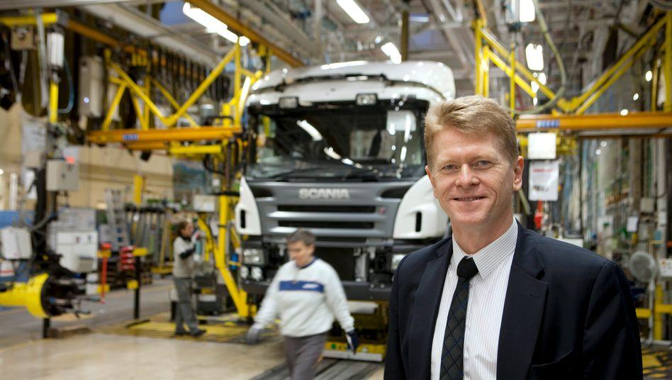Die Schweden sind da: Ex-Scania-Mann Anders Nielsen soll bei MAN Nutzfahrzeuge die Kosten senken
