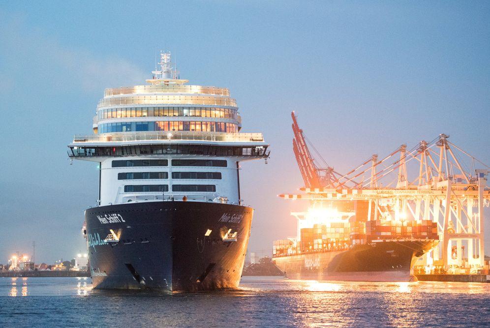 """""""Mein Schiff 2"""" nach dem ersten Kurztrip: Drei Tage über die Nordsee gefahren"""