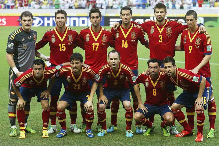 Fast wie immer: In der spanischen Mannschaft tummeln sich viele bekannte Gesichter der EM 2012, der WM 2010 und der EM 2008 ... eine gefühlte Ewigkeit