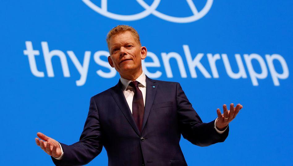 Thyssenkrupp-Chef Guido Kerkhoff im Februar 2019 in Bochum