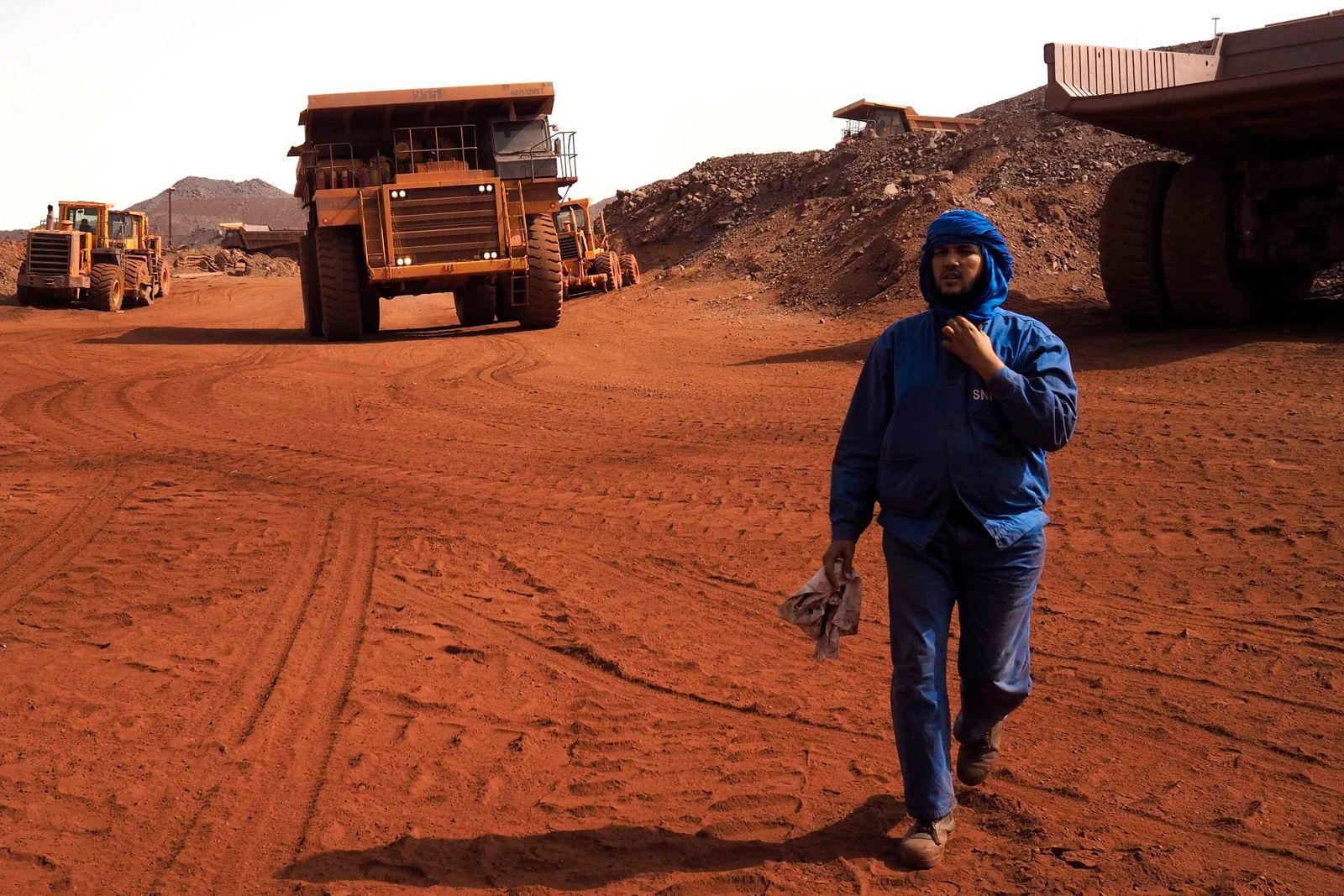 Mauretanien / Eisenerzmine