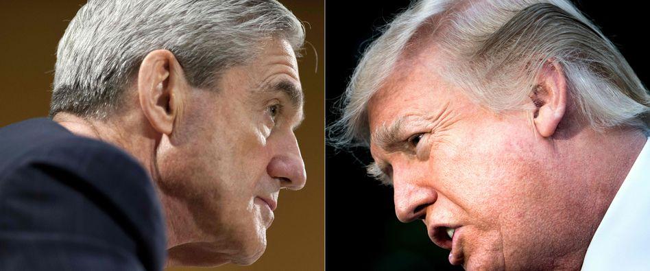 Robert Mueller, Donald Trump: Fragenkatalog mit 49 Fragen