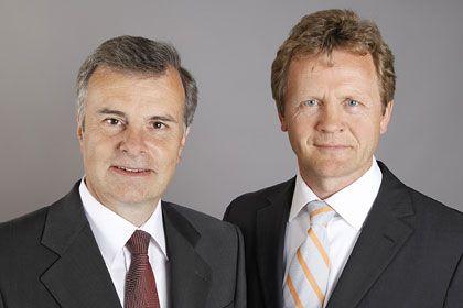 Künftige Chefs bei Simon-Kucher & Partners: Tacke (l.) und Hilleke