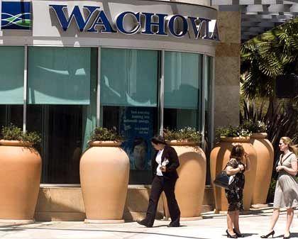Wachovia-Filiale: Nochmals 600 Stellen mehr gestrichen