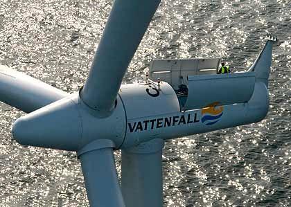 Windrad von Siemens: Der Konzern profitiert von Konjunkturprogrammen
