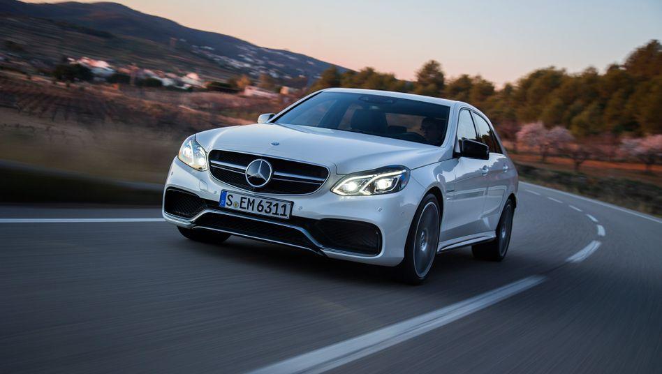Neue Mercedes E-Klasse: Mit Investitionen von einer Milliarde Euro aufgefrischt