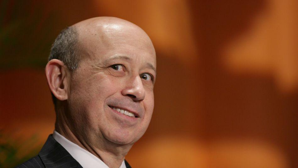 """Gratulation an Nachfolger """"David"""", Dank an die Familie: Goldman-Chef Blankfein verabschiedet sich auf typisch amerikanische Weise."""