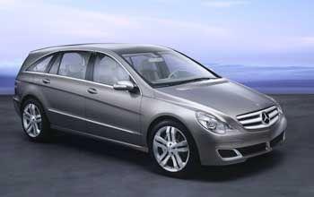 Eine von vielen Studien in Detroit: Der Mercedes GST setzt auf Größe