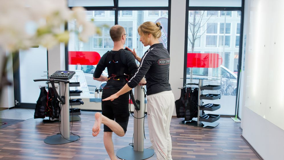 Training mit Elektrostimulation: Prickelnde Sporteinheiten